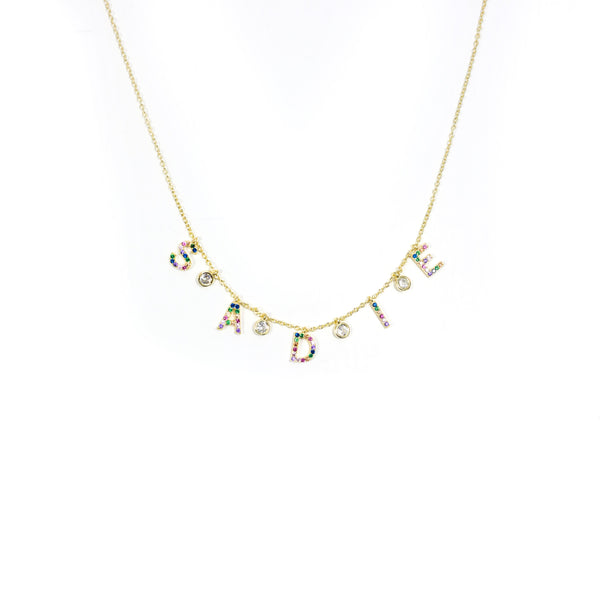 Girls It's All in a Name Necklace