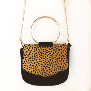 The Circle Cowhide Bag