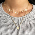 It's All in a Name™ Personalized Necklace JEWELRY The Sis Kiss