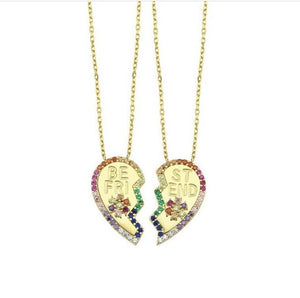 Best Friend's Forever Necklace Set