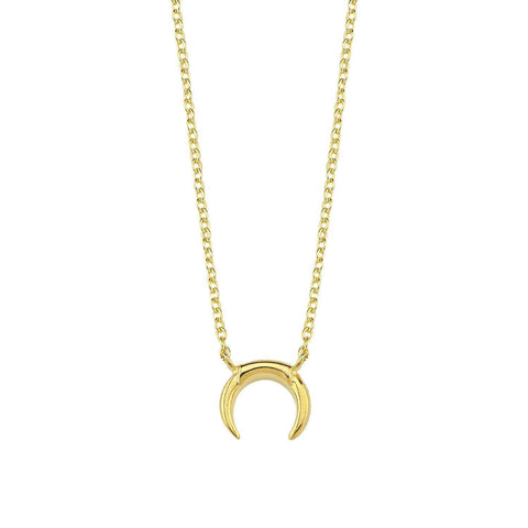 The Mini Horn necklace