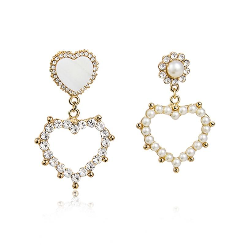 Statement Heart Earrings