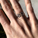 Custom Open Initial Ring JEWELRY The Sis Kiss