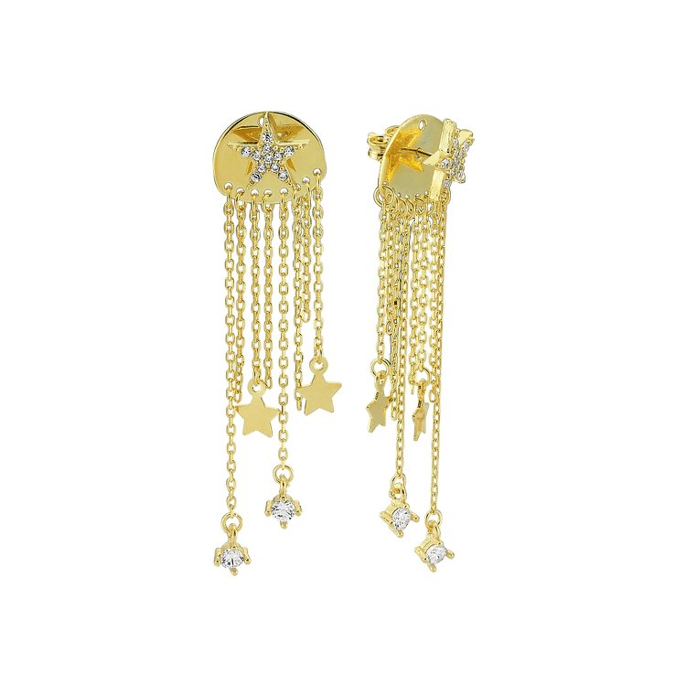 Starry Night Statement Earrings JEWELRY The Sis Kiss