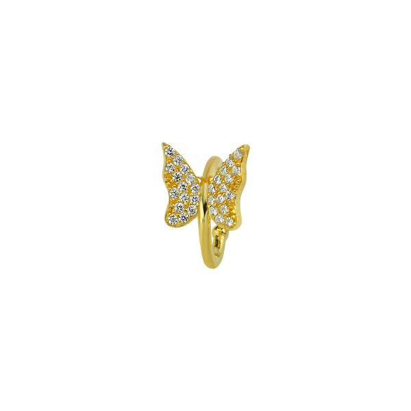 Butterfly Ear Cuff JEWELRY The Sis Kiss