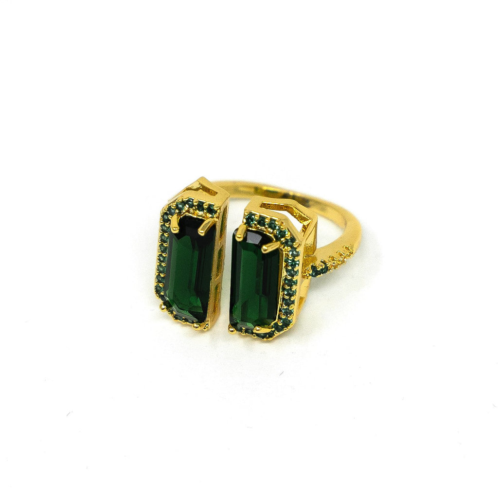Statement Gemstone Adjustable Ring JEWELRY The Sis Kiss