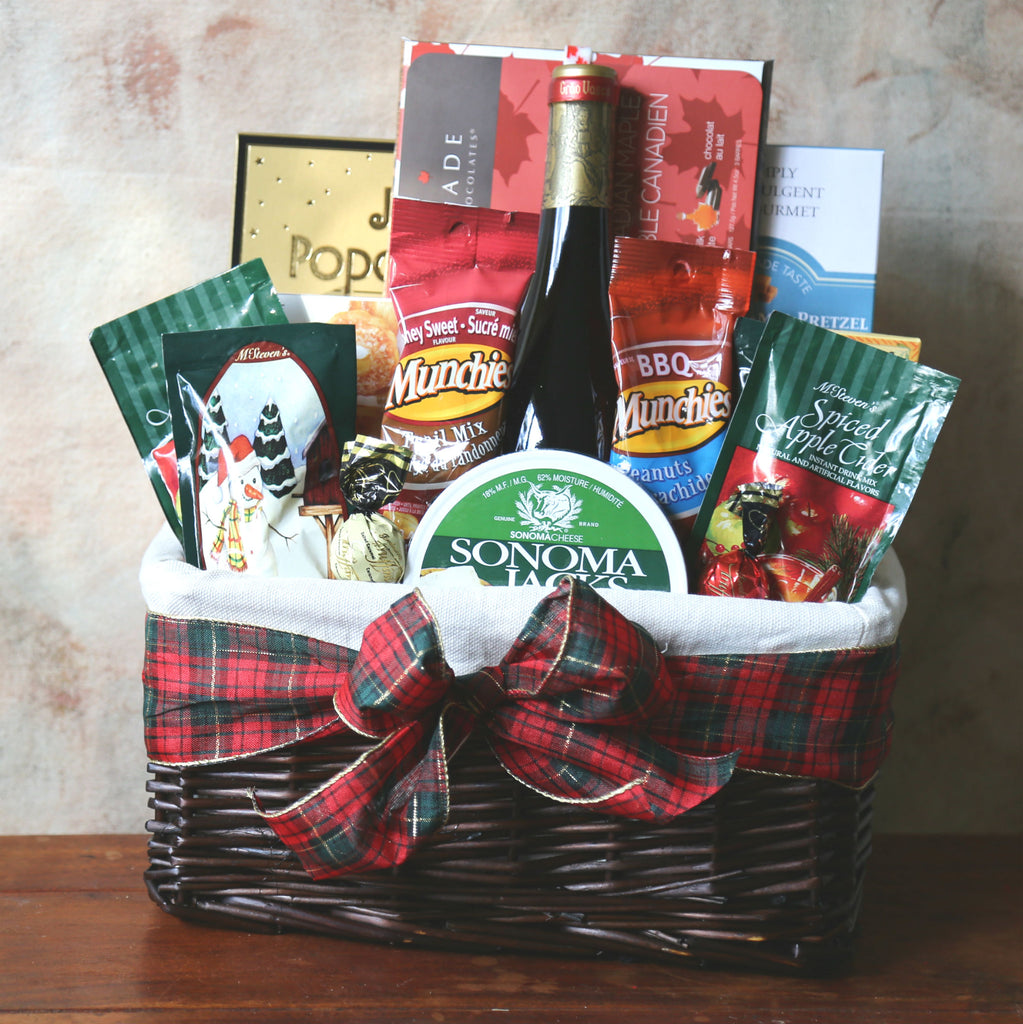 Exquisite Vancouver Gift Baskets Delivered just in time for Christmas