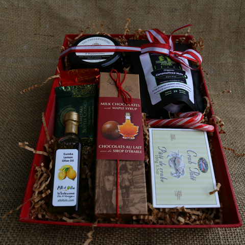 Basket Revolution Canadian Tray Gift Basket