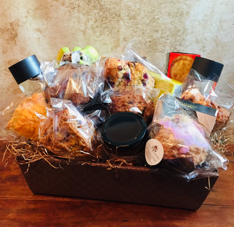Fresh Fruit & Baked Gift Basket Vancouver