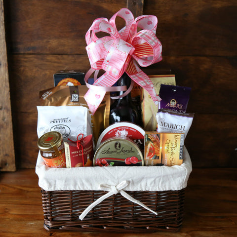 Valentines day gift baskets vancouver show your love extreme bounty special valentine edition gift basket vancouver basket revolution gifts negle Image collections