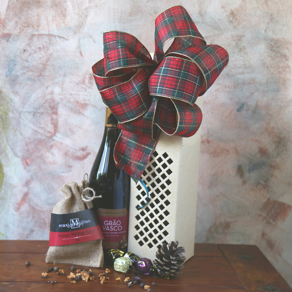 Christmas Gift Basket from Basket Revolution Gifts