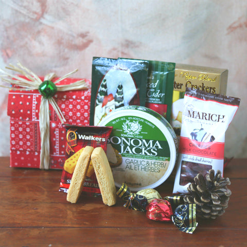Christmas Style | gift basket vancouver and fraser valley from Basket Revolution Gifts