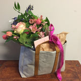 Flower and Goodies Bag | Gift Basket Vancouver