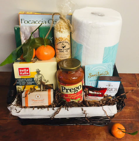 Together at Home Gift Basket