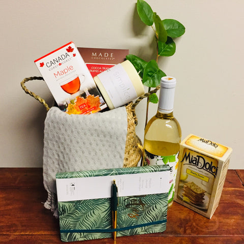 A night at home Gift Basket | Basket Revolution Gifts