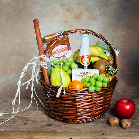 Basket Revolution Fruit Plus Gift Basket