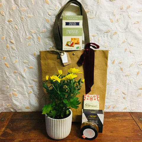 Plant & Goodies Bag | Gift Basket Vancouver