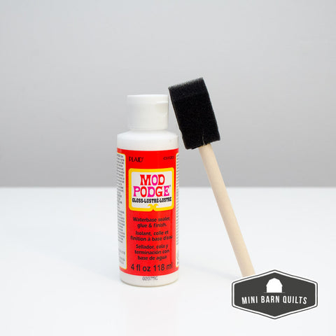 Mod Podge with Foam Brush (gloss finish)