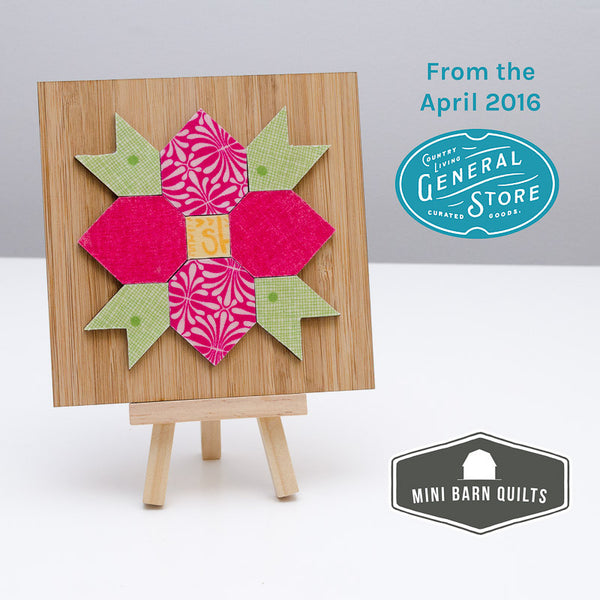 Dogwood Blossom Mini Barn Quilt Kit