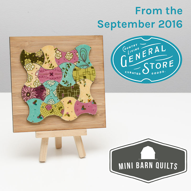 Apple Core Mini Barn Quilt Kit