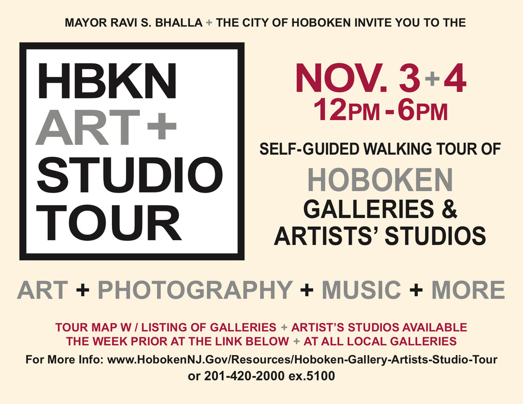 Hoboken Artists Studio Tour 2018