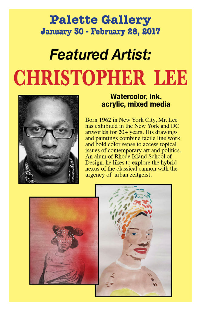 Christopher Lee at Palette Gallery, Asbury Park