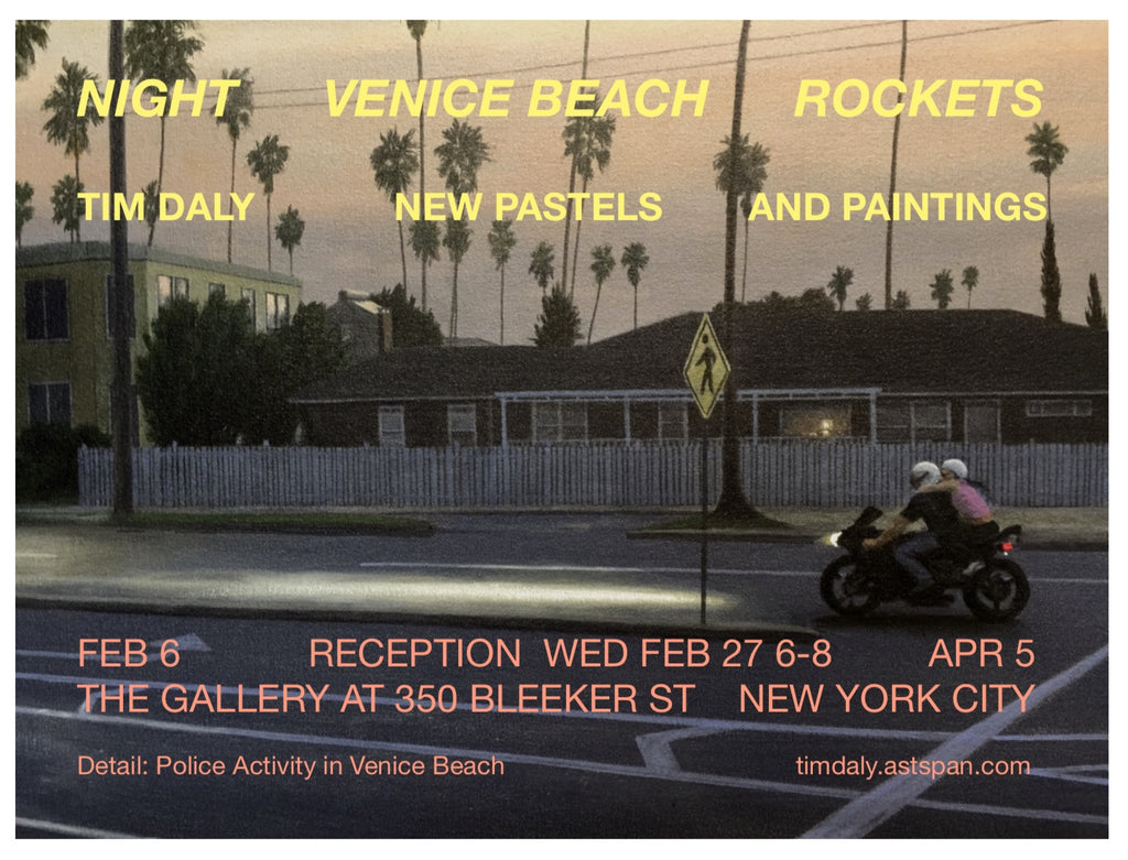 Night, Venice Beach, Rockets