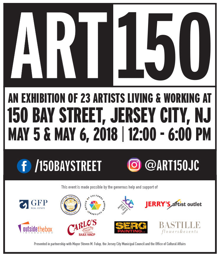 ART150 Exhibition—May 5 & 6, 2018