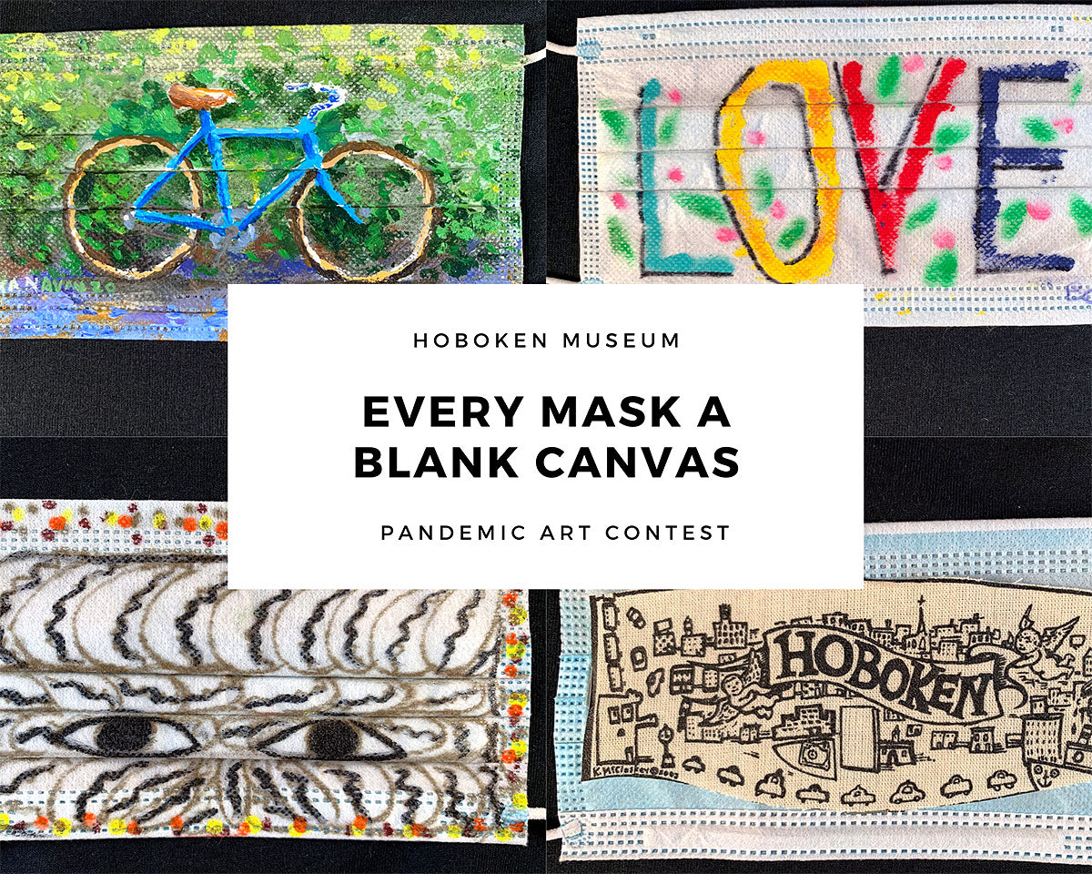The Hoboken Historical Museum Face Mask Contest