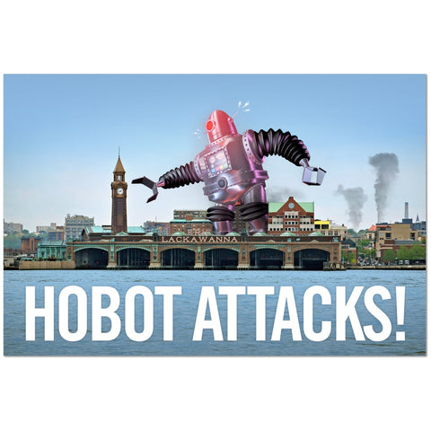 HOBOT Attacks! Poster