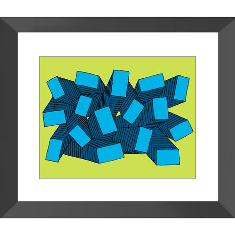 Shapes #15 (Framed)