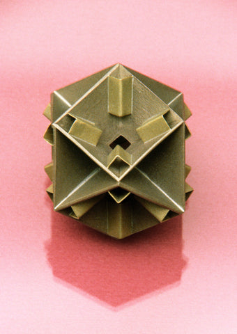 "Inverted ""Capped"" Cuboctohedron"