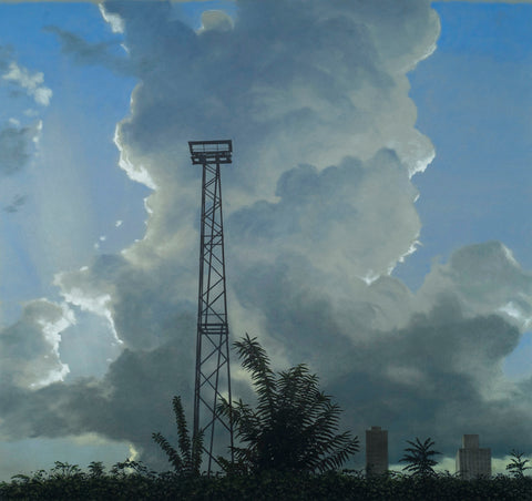 Towering Cumulus with Tower