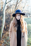 Suri Wool Felt Hat in Ink