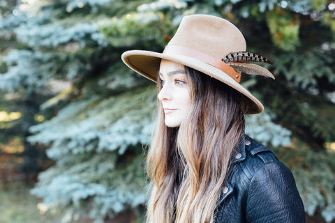 Emerson Fur Felt Hat in Fawn