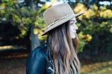 Madeline Fur Felt Hat in Fawn