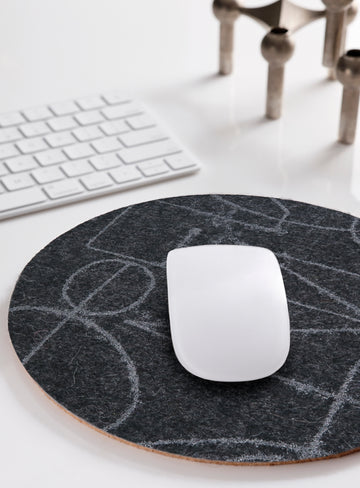 Mouse Pad Chalkline Charcoal