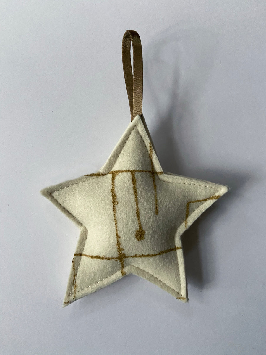 Star Ornament Geo Jazz Gold
