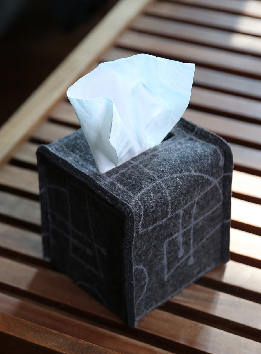 Tissue Box Cover Chalkline Charcoal
