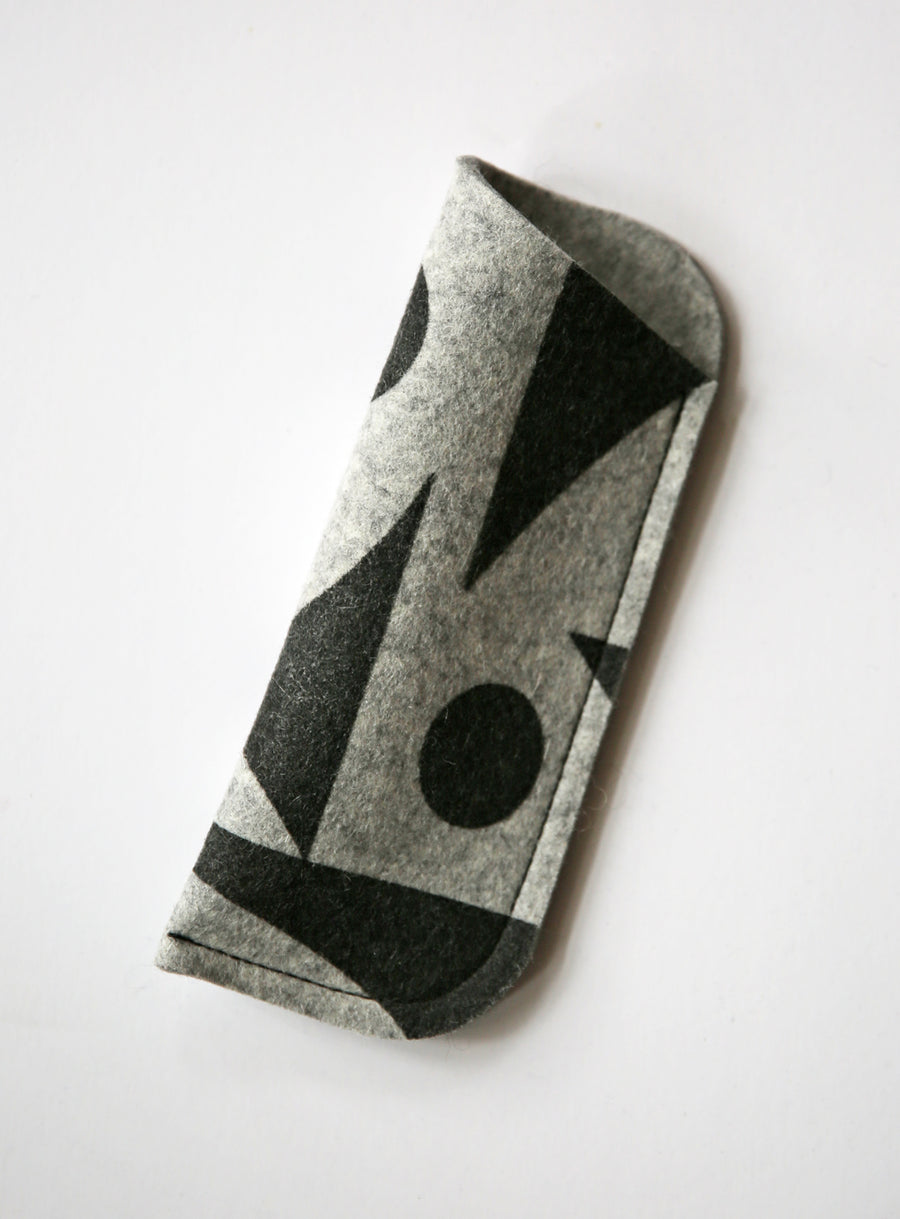 Glasses Cases GeoJazz Grey
