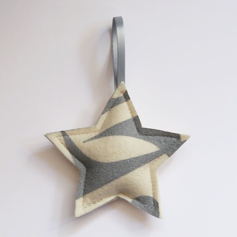 Geo Jazz Star Ornament