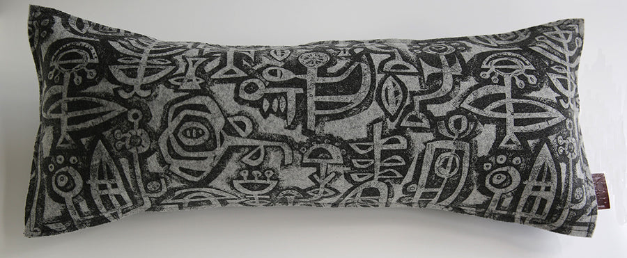 Hieroglyph Lumbar Cushion