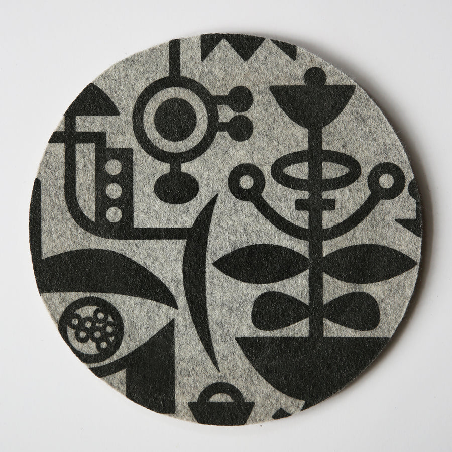 Mouse Pad Living Laboratory Grey