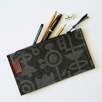 Pencil Case Living Laboratory Charcoal