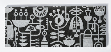 Table Runner Living Laboratory Charcoal