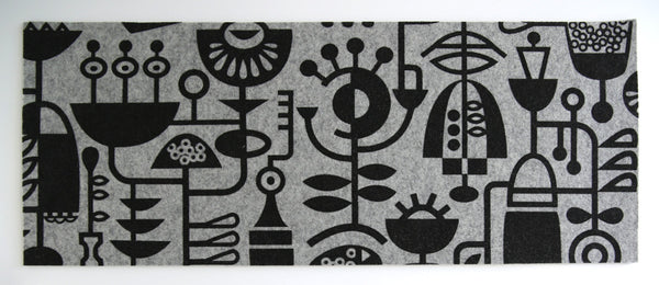 Living Laboratory Table Runner Grey