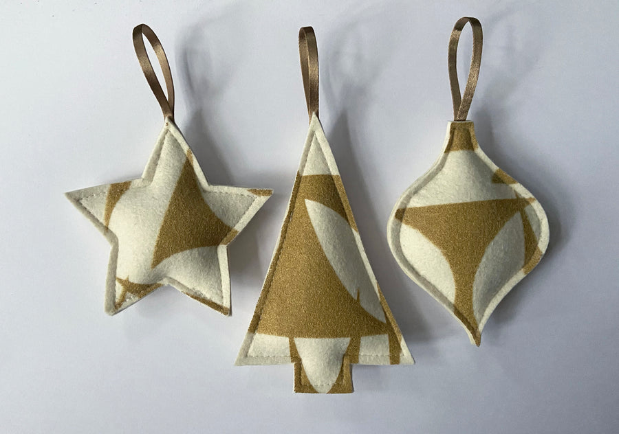Geo Jazz Ornament Set