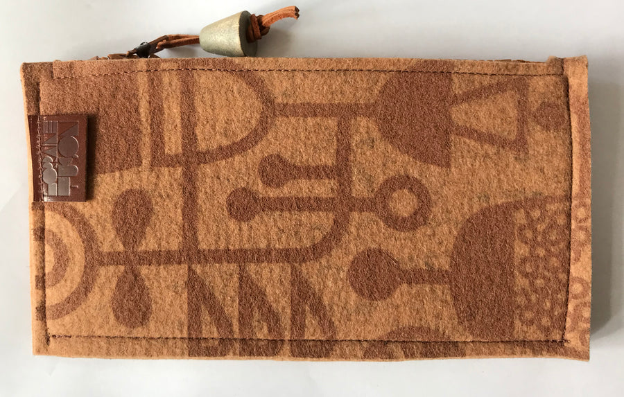 Living Laboratory Pencil Case Rust