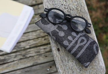 Glasses Cases Living Laboratory Charcoal