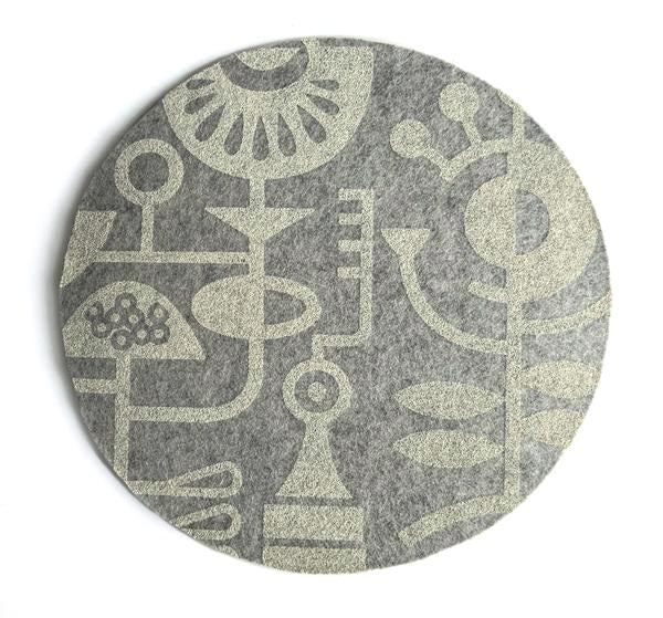Living Laboratory Light Grey Mouse Pad